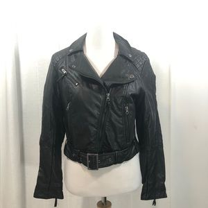 H&M Vegan Leather Biker Jacket